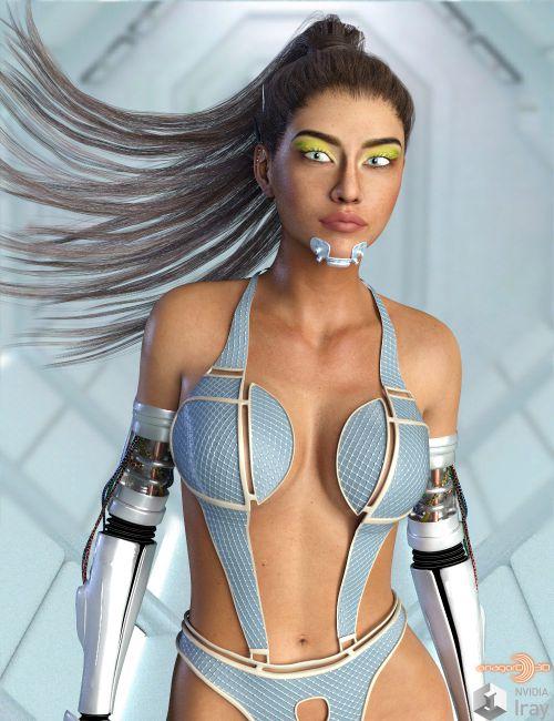 BLACKHAT:FUTURISTIC - Future Swimwear 6 for G3F and G8F