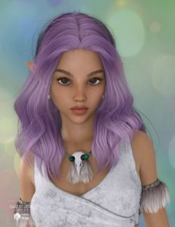 Ktarya Hair for Genesis 3 and 8 Female(s)