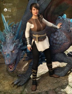Dragon Tamer Outfit for Genesis 8 Female(s)