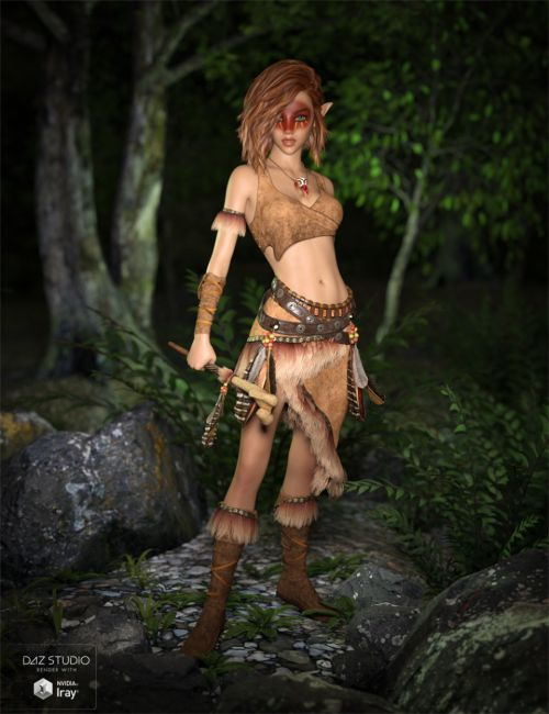 Ktarya Outfit for Genesis 3 Female(s) and Genesis 8 Female(s)