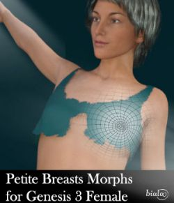 Petite Breast Morphs for Genesis 3 Female