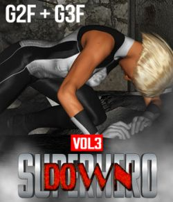 SuperHero Down for G2F & G3F Volume 3