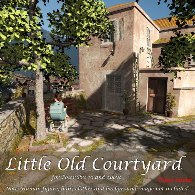 AJ Little Old Courtyard