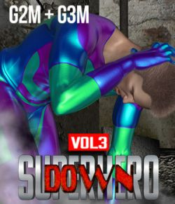 SuperHero Down for G2M & G3M Volume 3