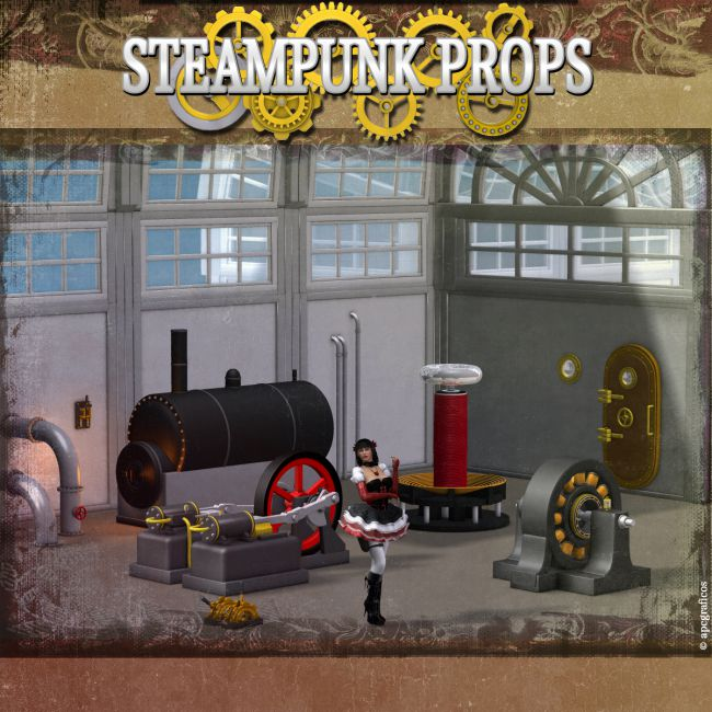 Steampunk Props