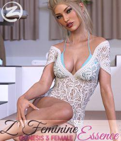 Z Feminine Essence - Poses for the Genesis 3 Females