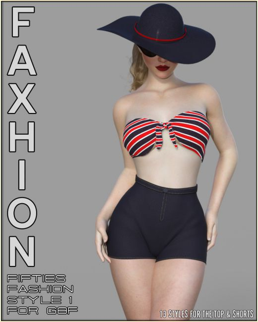Faxhion - Fifties Fashion Style1 for G8F