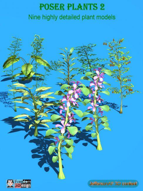 Poser Plants 2