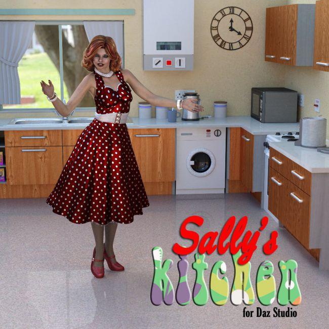 Sally`s Kitchen for DAZ Studio