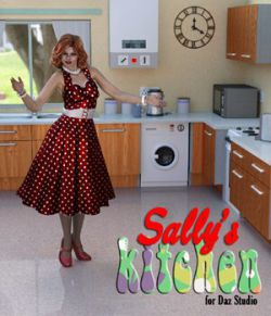 Sally`s Kitchen for DAZ Studio
