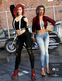 Crop Jacket Outfit Textures