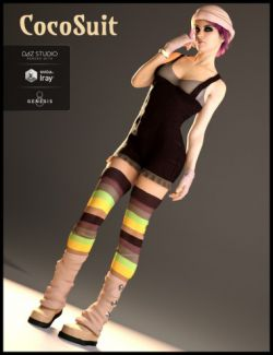 CocoSuit for Genesis 8 Female(s)