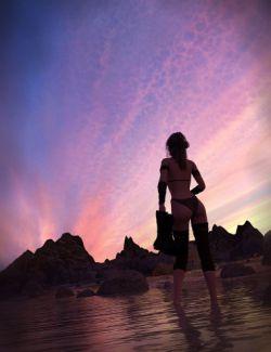 Orestes Iray HDRI Skydomes Vol 4- Sunset