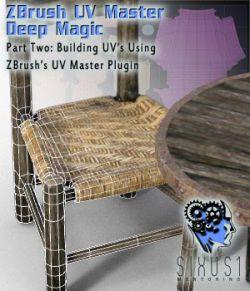 Sixus1 Mentoring Week 2: ZBrush UV Master Deep Magic