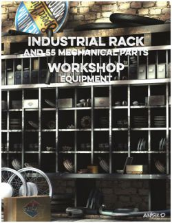 Workshop Industrial Rack and Equipment