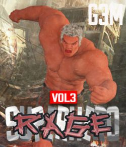 SuperHero Rage for G3M Volume 3