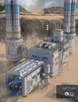 Sci-fi Base 2