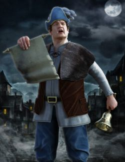 Town Crier for Genesis 3 Male(s)