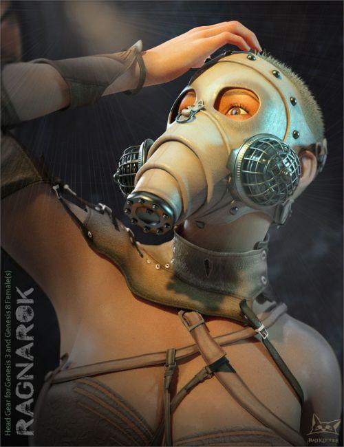 Ragnarok Mask for Genesis 3 and Genesis 8 Female(s)