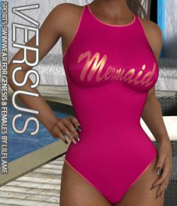 VERSUS- Sports Swimwear for Genesis 8 Females
