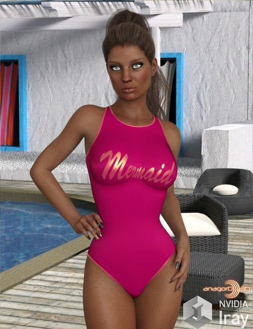 VERSUS - Sports Swimwear for Genesis 8 Females
