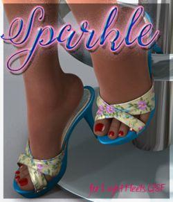 Sparkle Light Heels G8F