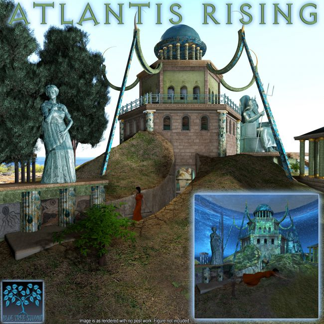 Atlantis Rising Architecture For Poser And Daz Studio