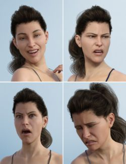 Expressive Faces- One-Click Morph Expressions for Victoria 8