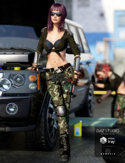 The Mechanic Outfit for Genesis 3 Female(s)