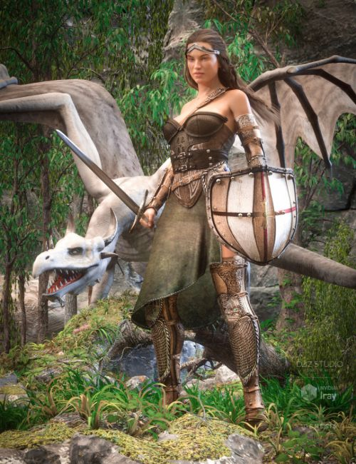 Dragon Guard Outfit for Genesis 8 Female(s)