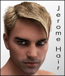 Jerome Hair for Genesis 3 Males