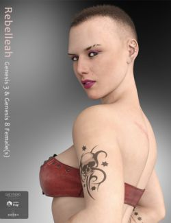 Rebelleah for Genesis 3 and 8 Female