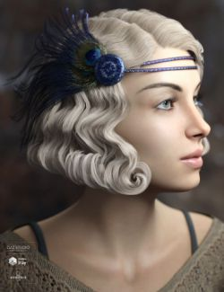 Zarah Hair for Genesis 3 & 8 Female(s)