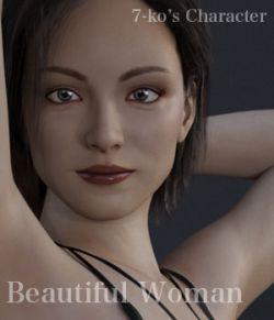 7-ko's Character Beautiful Woman