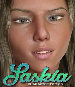 Exnem Saskia for Genesis 3 Female