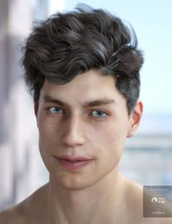 Morley Hair for Genesis 3 & 8 Male(s)
