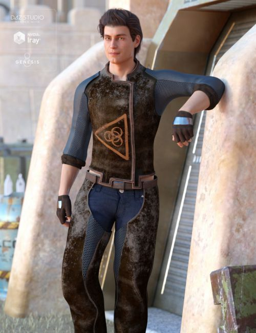 Sci-Fi Settler Outfit for Genesis 8 Male(s)
