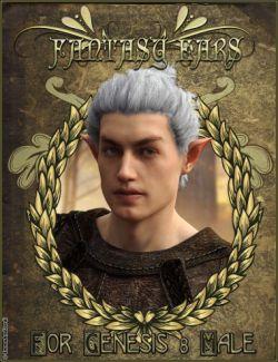EJ Fantasy Ears for Genesis 8 Male