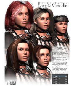 Definitive Hair: Long & Versatile for V4