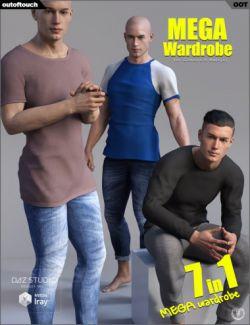 Genesis 8 Male MEGA Wardrobe