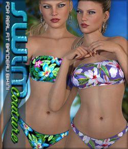 SWIM Couture for Real Fit Bandeau Bikini