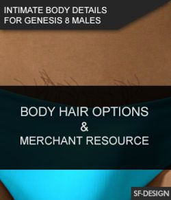 Intimate Body Details for Genesis 8 Males and MR