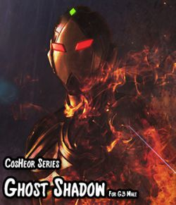 CosHeroSeries - GhostShadow Cloth Suit For G3 Male