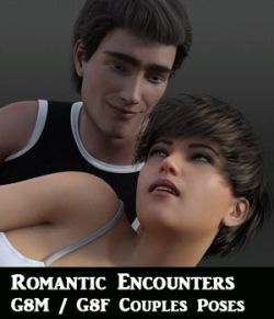 Romantic Encounters for Genesis 8 Male and Genesis 8 Female