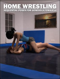 Home Wrestling Poses for Genesis 8 Female(s)