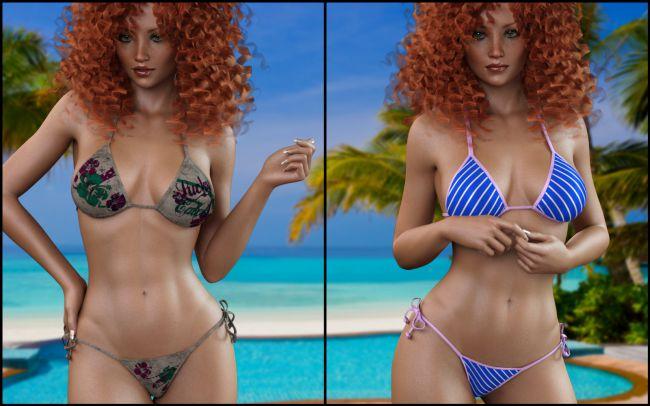 7th Ave: Bikini for G3F