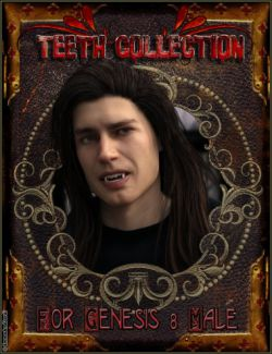 EJ Teeth Collection for Genesis 8 Male(s)