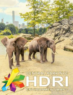 MEC4D HDRI Central Park NYC - Megapack