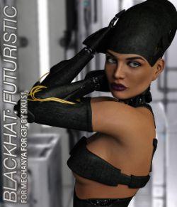 BLACKHAT:FUTURISTIC- Mechanya for Genesis 3 Female