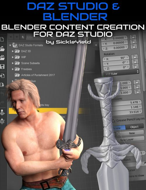 Daz Studio Content Creation with Blender